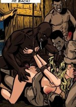 Thrilling toon pics with white slave girls get fucked roughly in the muslim world